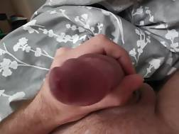 4 min - Huge cock jizz slow