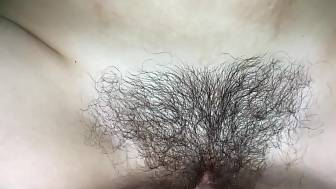 put fingers hairy pussy