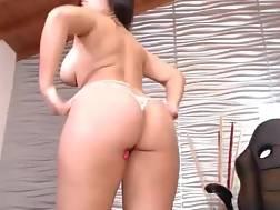 6 min - Hot spanish girl stripping