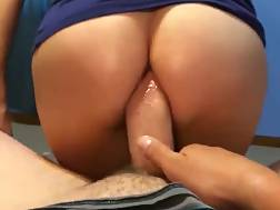 7 min - Slut riding pecker ass